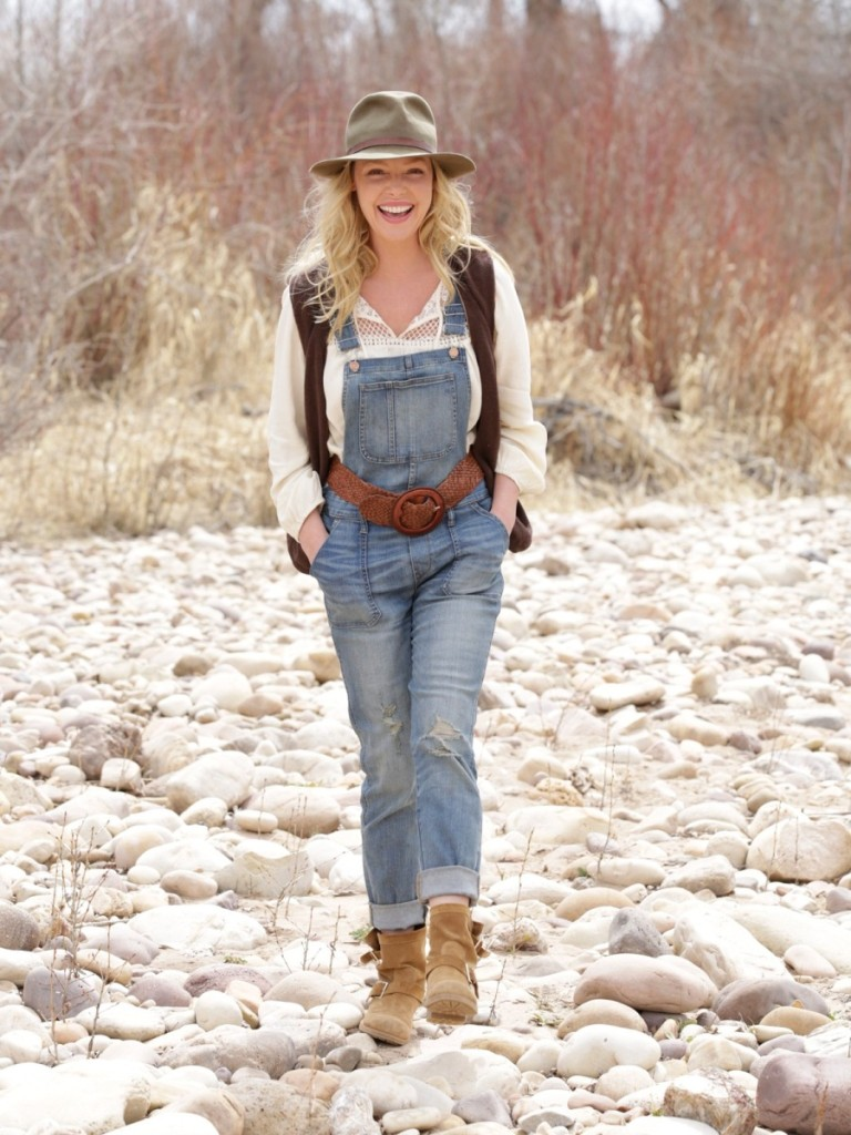 Katherine Heigl By The River