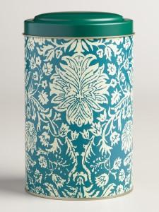Floral Tea Tin