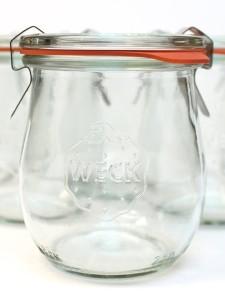Weck Tulip Jam Jar