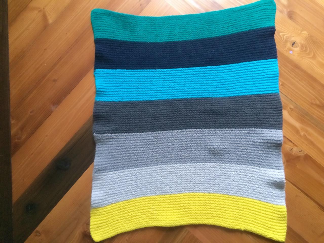 Crib Blanket Turned Play Mat…   Those Heavenly Days