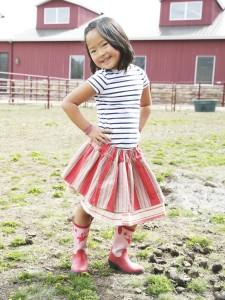 Sweet Circle Skirt