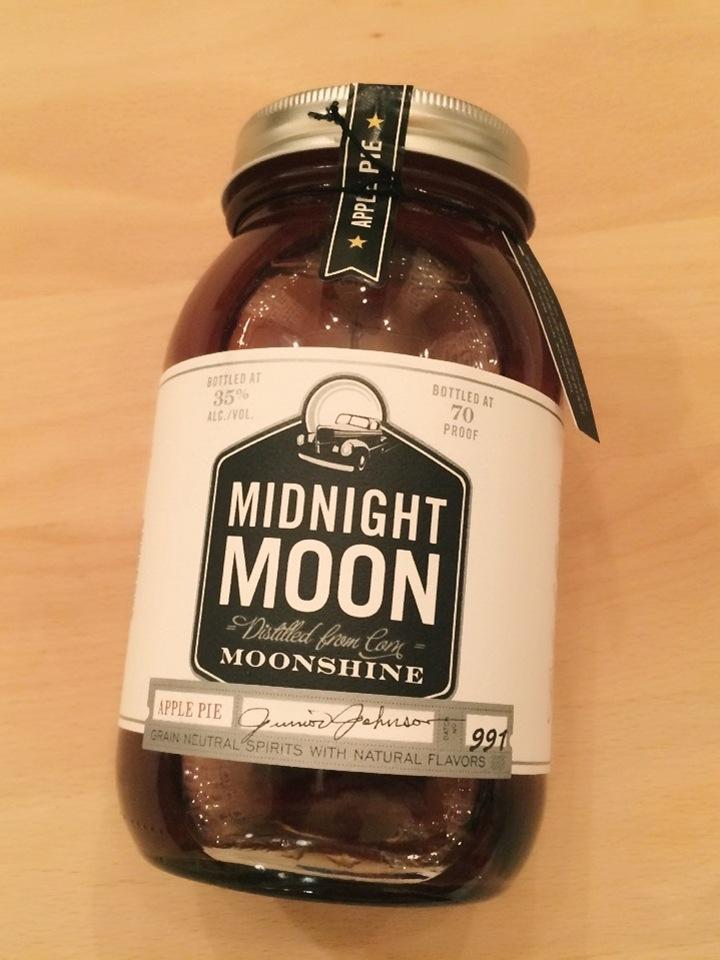 Midnight Moon Apple Pie Moonshine