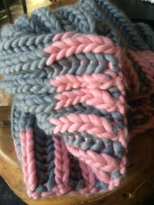 Color Dipped Cowl