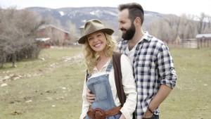 Katherine Heigl & Josh Kelley At The Badlands Ranch