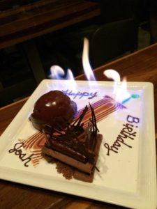 Josh Kelley's Chocolate Birthday Treat