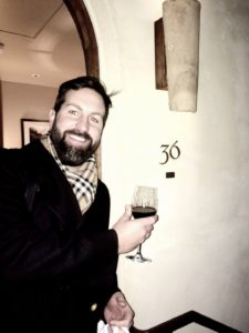 Josh Kelley Holding A Wine Glass