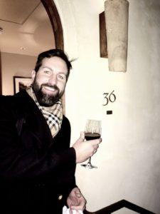 Josh Kelley Holding A Wine Glass