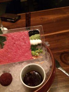 A Dish From The Omakase At Morimoto