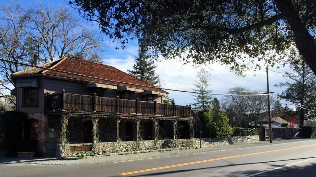 The Beautiful French Laundry Right Across The Street From Our Hotel! My own personal 100 Foot Journey