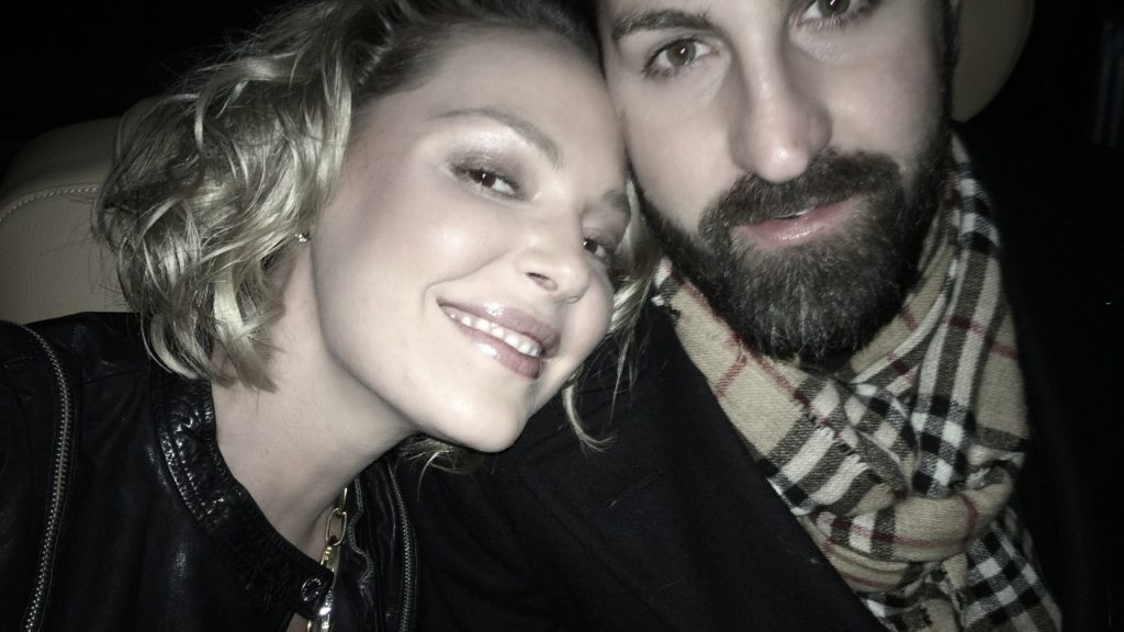 Katherine Heigl & Josh Kelly's Post Dinner Slightly Drunken Selfie