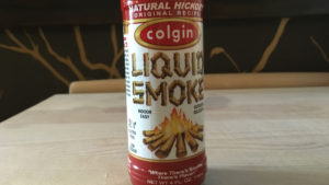 This Hickory flavor liquid smoke adds just the right campfire flavor to the casserole.