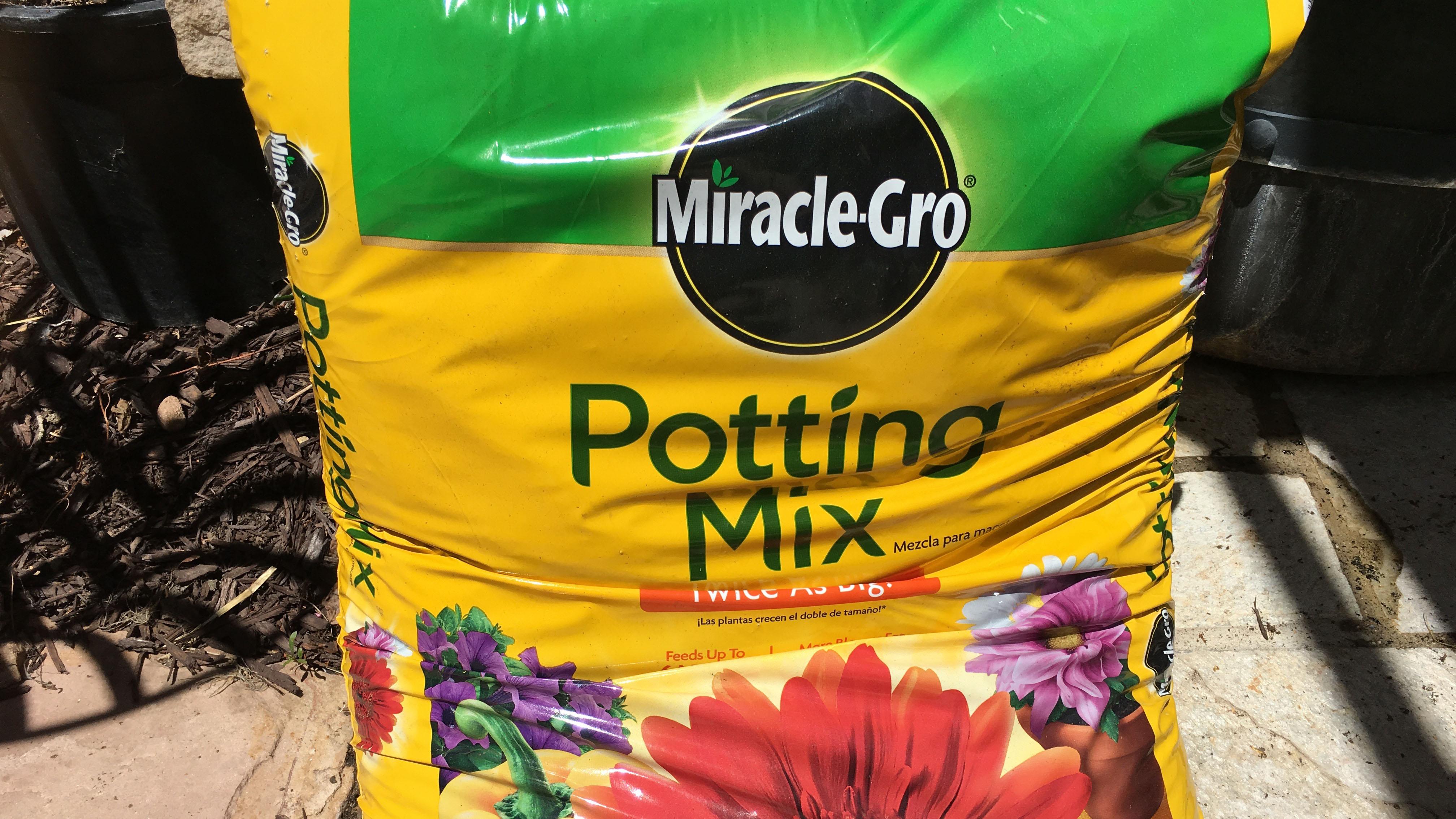 The right potting soil!