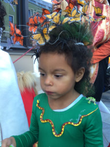 Adalaide Celebrating Halloween