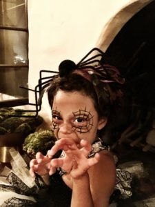 Adalaide - Halloween spider princess