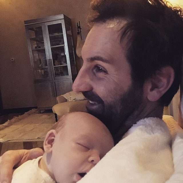 How joshbkelley is finishing off his birthday with sleepy snuggleshellip