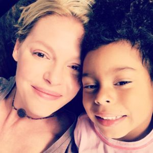 Katherine Heigl and daughter Adalaide