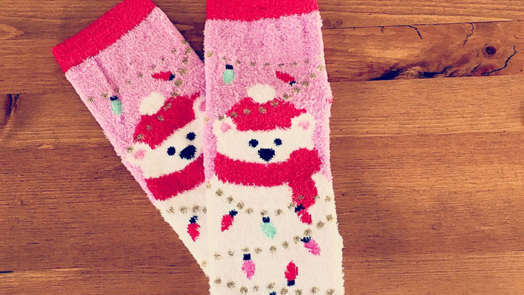 Warm cozy and cute socks!