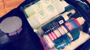 All my necessary skin care!