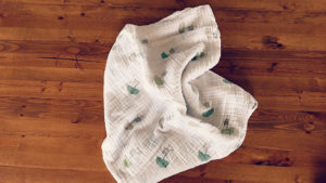 The perfect muslin swaddle!