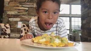 Adalaide loved the pineapple and cream cheese version