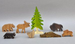 Arks And Animals Wooden Toys