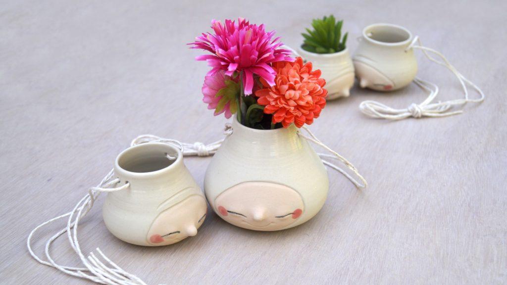 Belinism Ceramic Hanging Pots