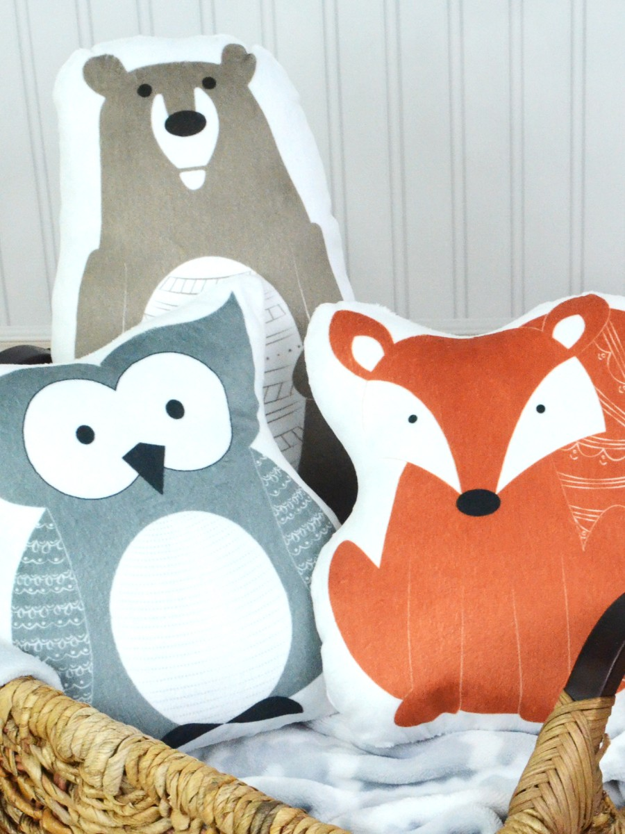 Artistan Finds - Clever Betty Woodland Pillows