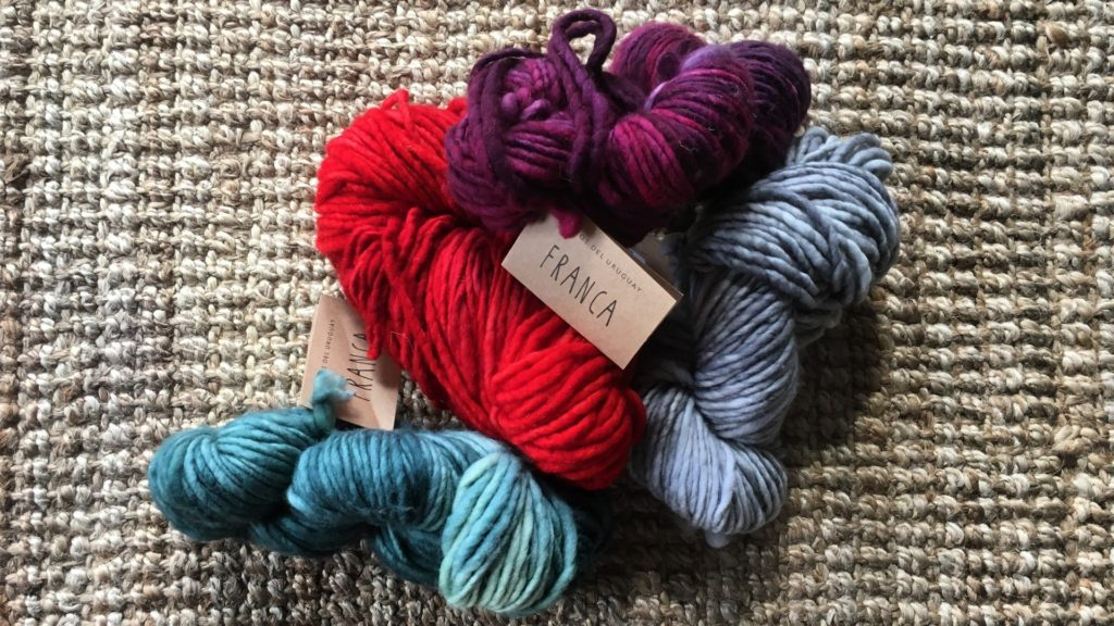 Manos del Uruguay Franca yarn for winter hats