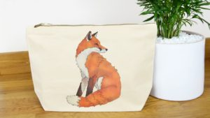 Ceridwen Hazelchild Design Canvas Wash Bag