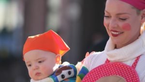 Katherine Heigl and Joshua Jr - Halloween Costumes