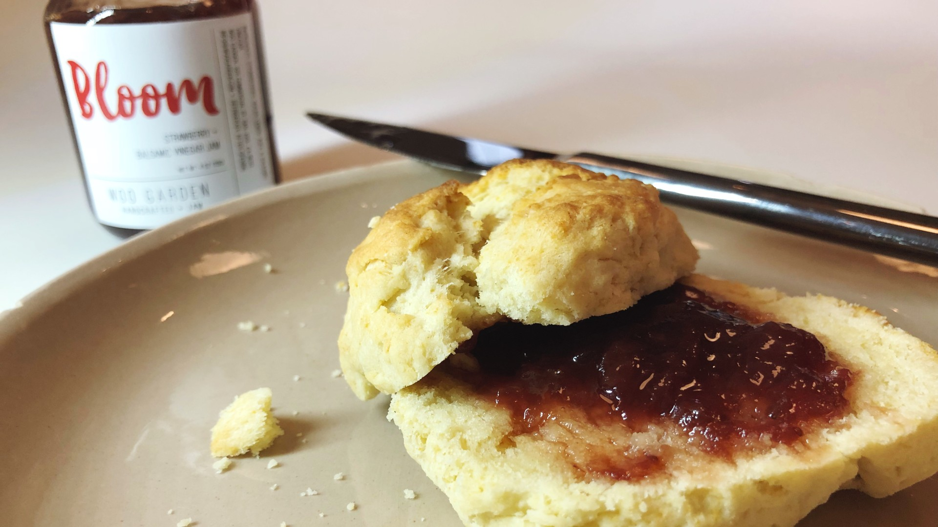 Small batch preserves and homemade biscuits. A perfect artisan find for the Kelley household!