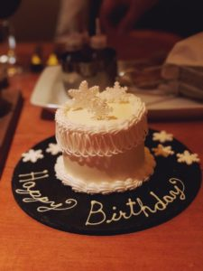Katherine Heigl's birthday cake