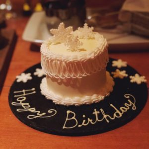 Katherine Heigl's birthday cake