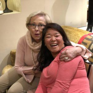 Nancy Heigl and Meg Heigl-Beltran