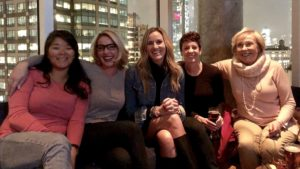 Katherine Heigl celebrating her birthday with family and friends