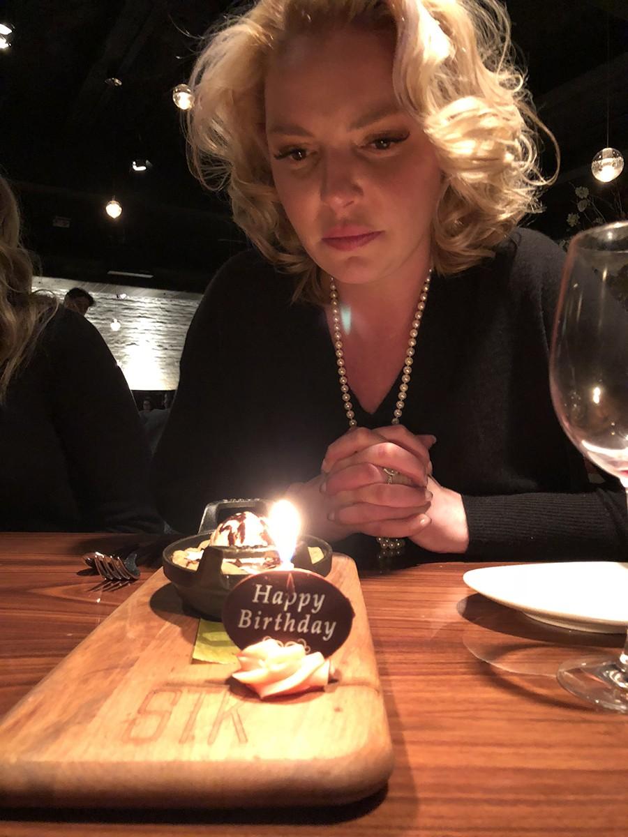 Holidays 2017: Katherine Heigl's Birthday Trip to New York City