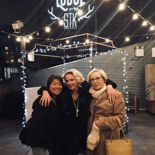 Katherine Heigl, Nancy Heigl and Meg Heigl-Beltran