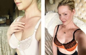 Hourglass Underground: Katherine Heigl Wearing Jenette Bras