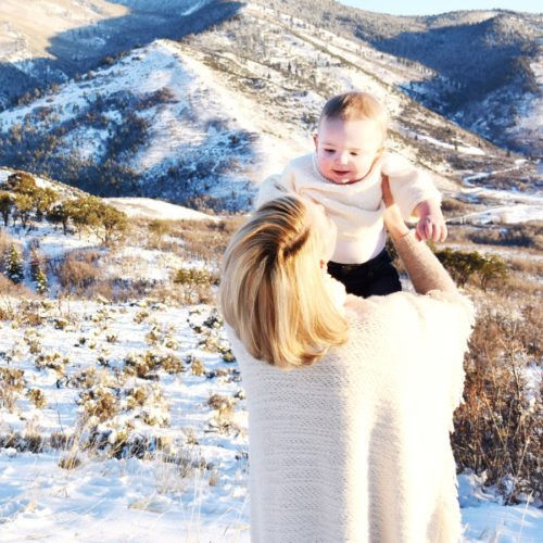 Katherine Heigl and Joshua Jr.