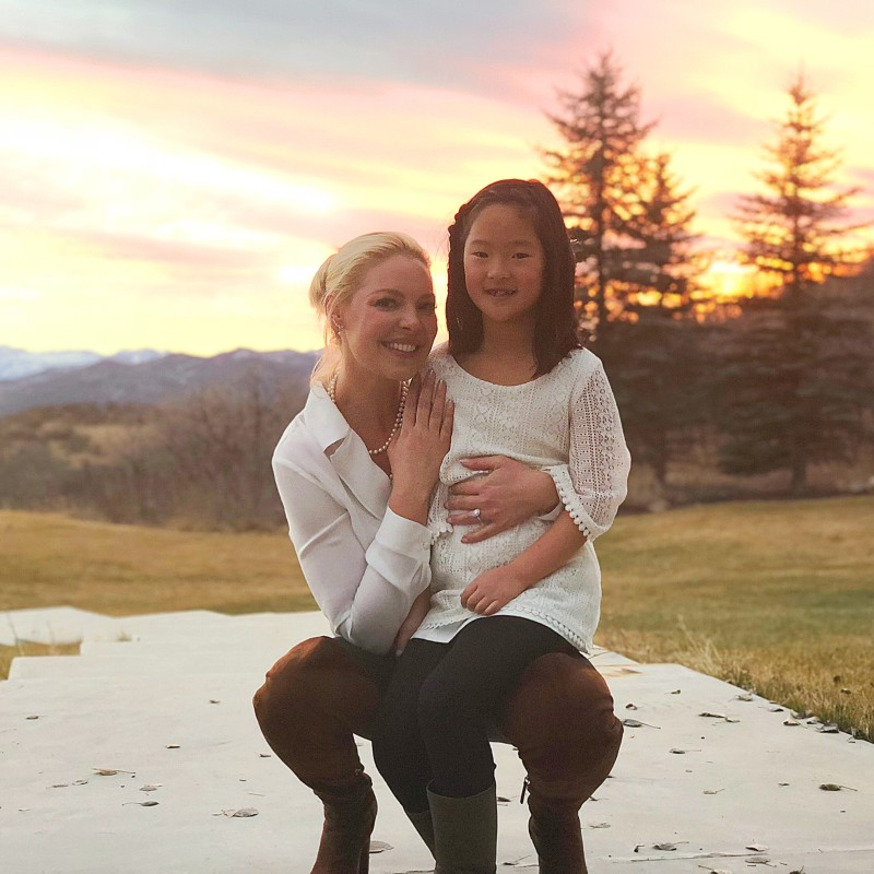Katherine Heigl and daughter Naleigh