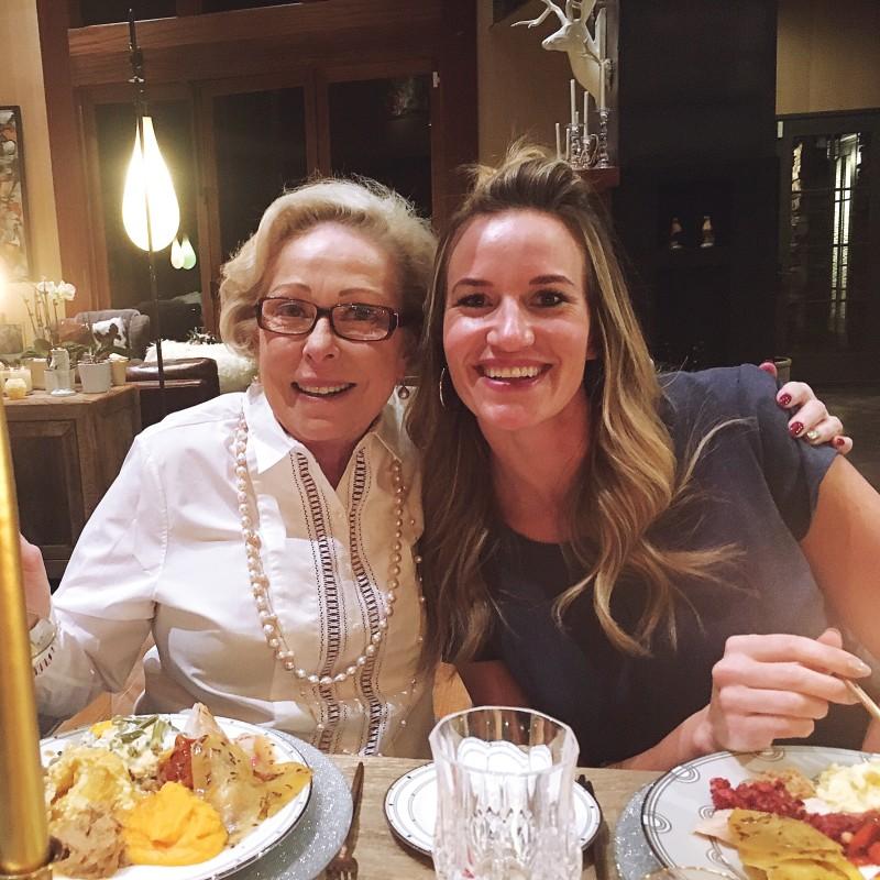 Nancy Heigl and Tasia Steffensen