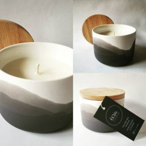 Ecru Candles