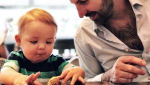 Josh Kelley and Joshua Jr. at Planta Restaurant