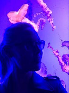 Katherine Heigl at Ripley's Aquarium of Canada