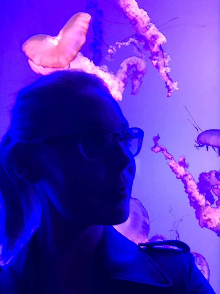 Katherine Heigl at Ripley's Aquarium of Canada