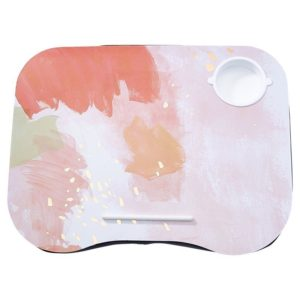 Lap Desk: Bloom Baby Pink Painterly