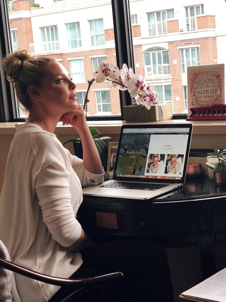 Katherine Heigl - Home Office Space
