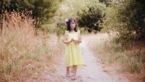 Sunshine yellow sundress