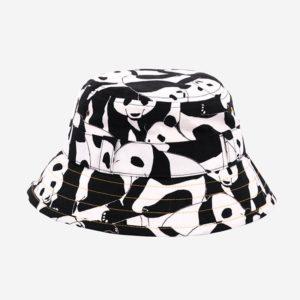 Panda print sun hat
