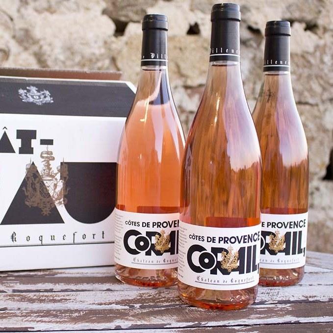 Château de Roquefort Corail Rosé